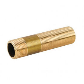 BRASS SLIDING BARREL NIPPLE 1 X 150
