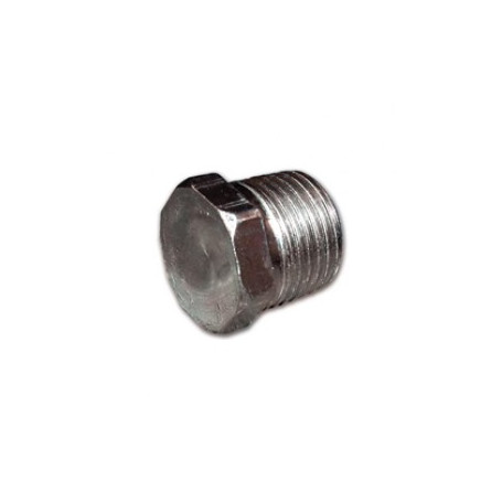 GALVANIZED HEXAGONAL PLUG 1/4M