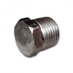 GALVANIZED HEXAGONAL PLUG 11/2M