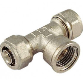 TEE MULTILAYER THREADED FEMALE 26 X 1/2'' X 26