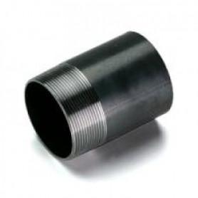 BLACK NIPPLE 1/2X100