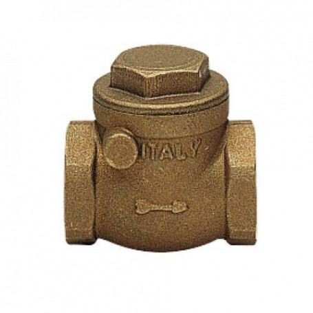 SWING CECK VALVE FF C/TEN RUBBER SB 1''