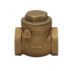 SWING CECK VALVE FF C/TEN RUBBER SB 1/2''