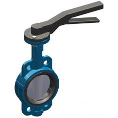 WAFER BUTTERFLY VALVE DN50 PN16 - INOX DISC