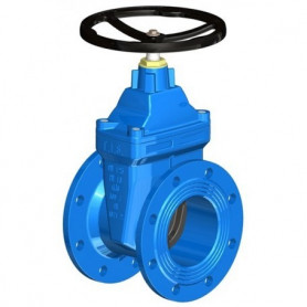 FLAT BODY GATE VALVE DN150 PN16 SOFT SEATED+HW