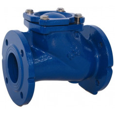 BALL CHECK VALVE DN125 PN16 GGG40