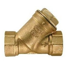 BRASS Y PATTERN FILTER RST 3''