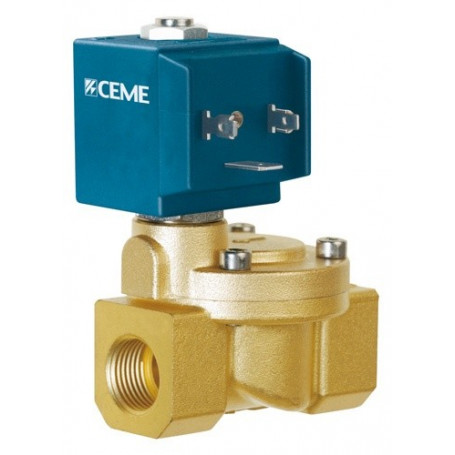 SOLENOID VALVE N.O. PILOT OPERATED 1/2'' NBR'