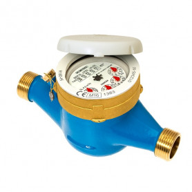 FLOW METER 1 1/4'' THREADED DRY DIAL