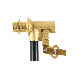 BRASS FLOAT 1/2 ADJUSTABLE BEAM