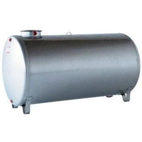 INOX TANK 316L HORIZONTAL LT. 1000
