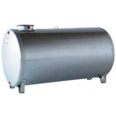 INOX TANK 316L HORIZONTAL LT. 1500