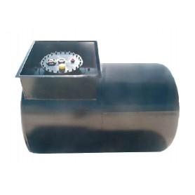 TANK FUEL 2 CHAMBER HORIZONTAL LT. 5000 40-30/10