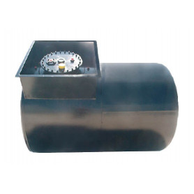 TANK FUEL 2 CHAMBER HORIZONTAL LT.10000 40-30/10
