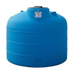 POLYETHYLENE TANK. CYLINDRICAL/TO CARRY LT.2100
