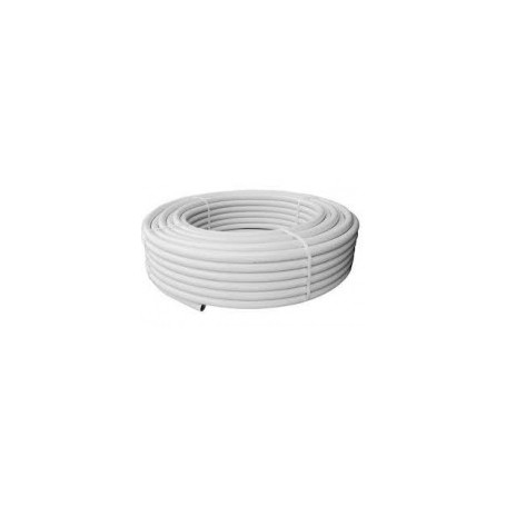 TUBE MULTICOUCHE 16X2MM AL0.2 BLANC ML.100