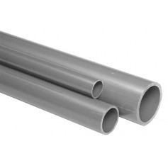 THREADABLE PVC PIPE M.6 PN 16 D. 1'''