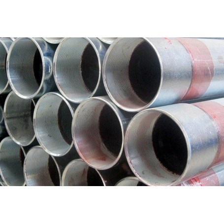 GALVANIZED PIPE 11/4 UNI EN10255 SCREW-SLEEV