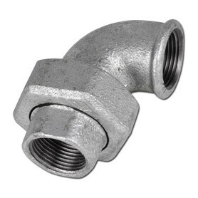 CAST-IRON UNION ELBOW, TAPER SEAT F/F 1