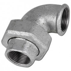 CAST-IRON UNION ELBOW, TAPER SEAT 2