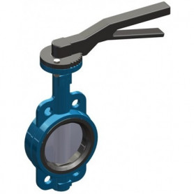 WAFER BUTTERFLY VALVE DN 250 PN16 - CAST IRON DISC