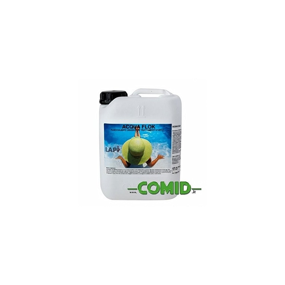 Antialghe lt 5 concentrato plus comid for Antialghe per piscine