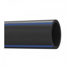 POLYTHENE PIPE 100 IIP PN 16 M.12 D.125