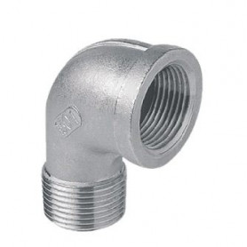 ELBOW 90' MF 2'' STAINLESS STEEL 316