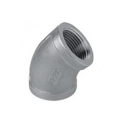 ELBOW 45' FF 1/2 STAINLESS STEEL - 316