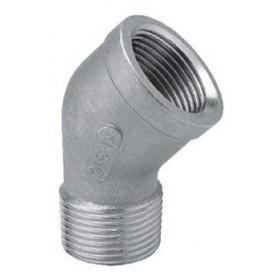 COUDE 45' MF 1/8 INOX 316