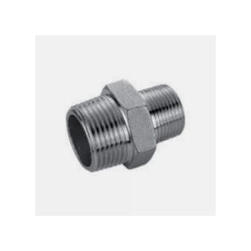 NIPPLE 1/2 X 3/8 STAINLESS STEEL - 316