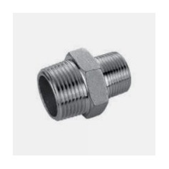 NIPPLE 3/8 X 1/8 STAINLESS STEEL - 316