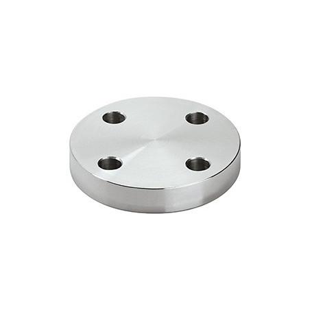 FLANGIA CIECA INOX EN1092/5 D125 PN16 304L