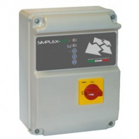 QUADRO MONOFASE FOURGROUP SIMPLEX-UP-M/3 KW0.37-2.2