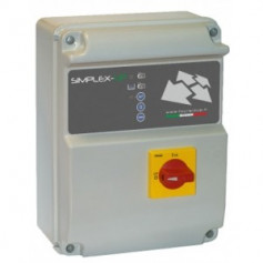 QUADRO MON. FOURGROUP SIMPLEX-UP-M/3 KW0.37-2.2