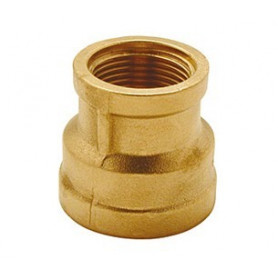 BRASS REDUCING SOCKET 11/4 X 1