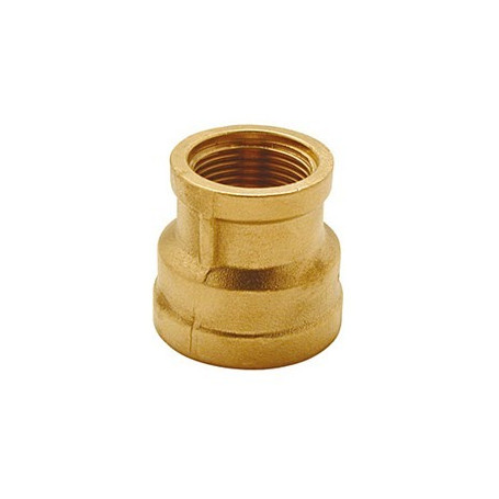 BRASS REDUCING SOCKET 11/2 X 11/4