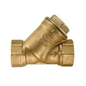 IMPURITY FILTER FITTING Y BRASS RST 11/2