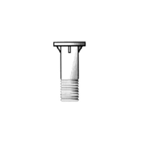 TRONCHETTO POMPA/TUBAZIONE ZINC. 114 X 3'' M