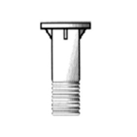 ZINC-COATED SOCKET PUMP/PIPE 89 X 3'' M