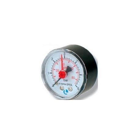 MANOMETRO D.50 0-6 BAR 1/4 ABS POSTERIOR
