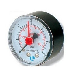 GAUGE D.50 0-6 BAR 1/4 ABS POSTERIOR