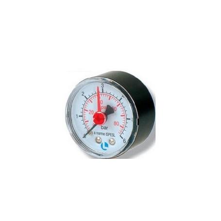 PRESS GAUGE ABS D.63 0-6 BAR 1/4