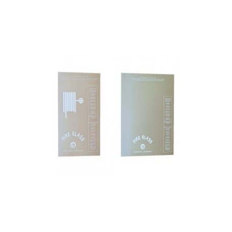 LASTRA FIRE GLASS mm 306 X 530 PER CASS. INC. 45