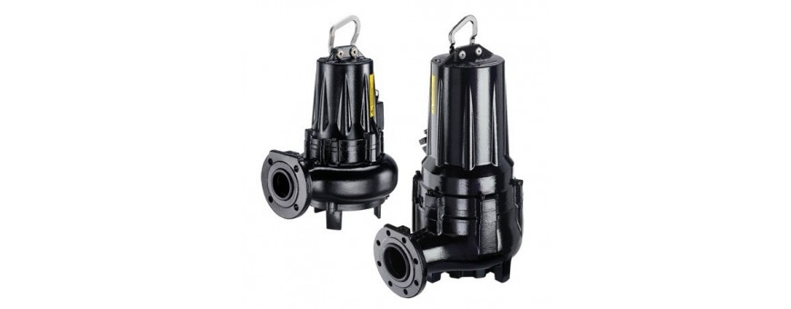 SUBMERSIBLE ELECTRIC PUMPS FOR WASTE WATERS