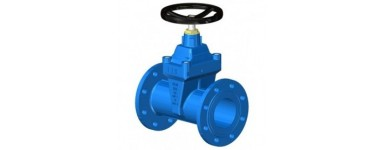 LONG BODY GATE VALVE W/SOFT SEATED - CAST-IRON