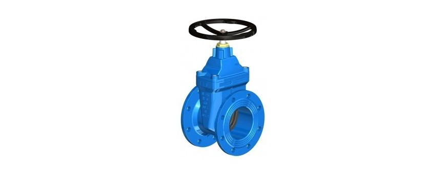 SHORT BODY GATE VALVES W/SOFT SEATED - CAST IRON