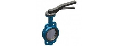 BUTTERFLY VALVES - WAFER (INOX DISC)