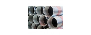 SEAMLESS ZINC-COATED PIPES FOR WATER AND GAS