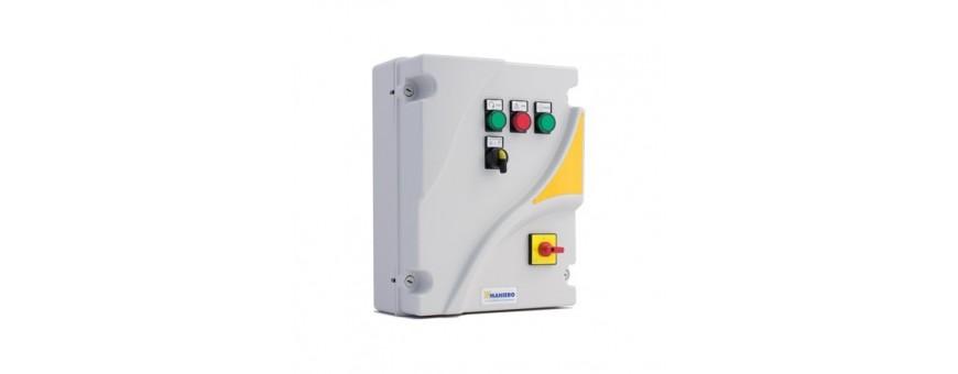 ELECTROMECHANICAL PANELS FOR 1 SINGLE-PHASE MOTOR